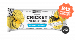 Grilo Organic Cricket Energy Bar | Banana Caramel 45g - Box of 12
