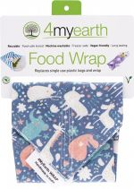 4MYEARTH Food Wrap Animals - 30x30cm 1