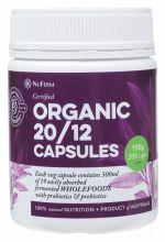 NUFERM Organic 20/12 Capsules 200 caps