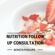 Nutrition Follow Up Consultation with Bonita