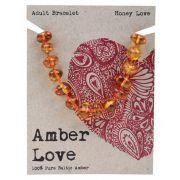 AMBER LOVE Honey Adult Bracelet 20cm