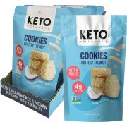 KETO NATURALS Cookies Buttery Coconut 8x64g