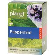 Planet Organic Peppermint Tea Bags 50 bags