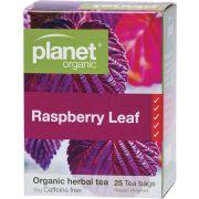 PLANET ORGANIC Herbal Tea Bags Raspberry Leaf 25