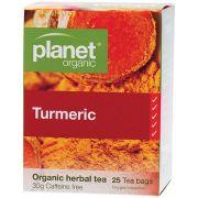 PLANET ORGANIC Turmeric Tea Bags 25 bags
