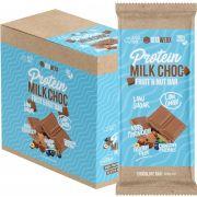 VITAWERX Protein Milk Chocolate Bar Fruit & Nut 12x100g