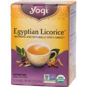 YOGI TEA Herbal Tea Bags Egyptian Licorice 16 bags