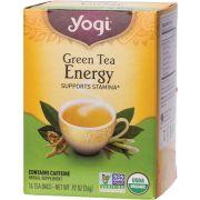YOGI TEA Herbal Tea Bags Green Tea Energy 16 bags