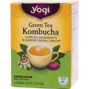 YOGI TEA Herbal Tea Bags Green Tea Kombucha 16 bags