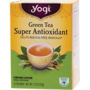 YOGI TEA Herbal Tea Bags Green Tea Super Antioxidant 16 bags