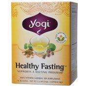 YOGI TEA Herbal Tea Bags Healthy Fasting 16 bags