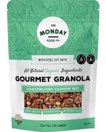 The Monday Food Co. Gourmet Granola Caramelised Cashew Nut 800g