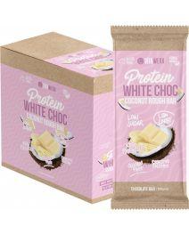 VITAWERX Protein White Chocolate Bar Coconut Rough 12x100g