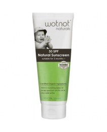 WOTNOT Natural Sunscreen 30 SPF Suitable For 3 Months+ 100g