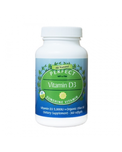 "Perfect Vitamin D3 - ""Sunshine Vitamin"""