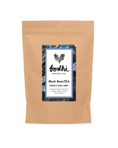 Bodhi Organic Black BeauTEA (FRENCH EARL GREY) Refill Pack 250g