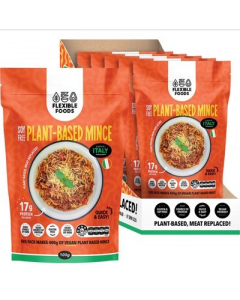 FLEXIBLE FOODS Soy Free Plant-Based Mince A Taste Of Italy 5x100g