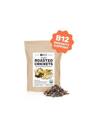 Grilo Organic Roasted Crickets 30g