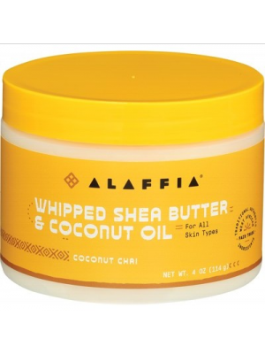 ALAFFIA SHEA Whipped Shea Butter & Coconut Oil Coconut Chai - 114g