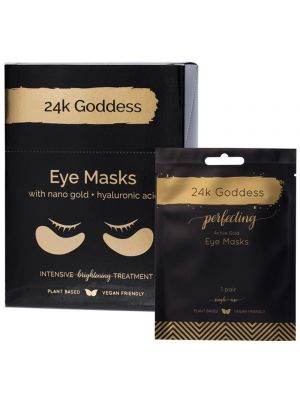 24K GODDESS Perfecting Active Gold Eye Masks - 10 Pairs 10