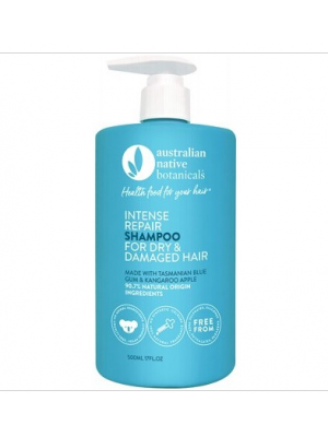 AUSTRALIAN NATIVE BOTANICALS Shampoo - Intense Repair Dry & Damaged Hair - 500ml