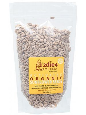 2DIE4 LIVE FOODS Sunflower Seeds 200g