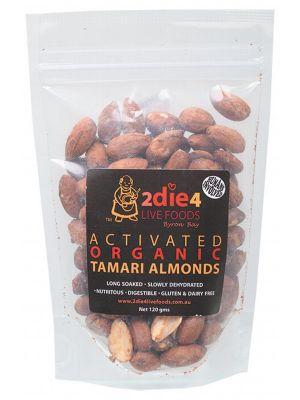 2DIE4 LIVE FOODS Tamari Almonds 120g