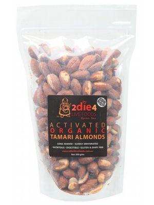 2DIE4 LIVE FOODS Tamari Almonds 300g