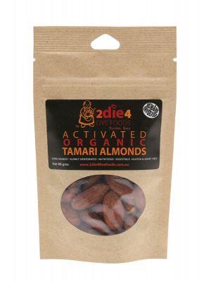 2DIE4 LIVE FOODS Organic Tamari Almonds 40g