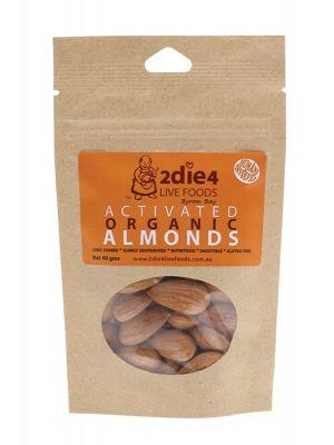 2DIE4 LIVE FOODS Organic Almonds 40g