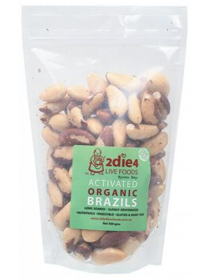 2DIE4 LIVE FOODS Activated Brazil Nuts 300g