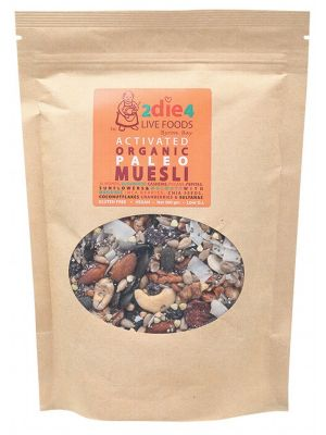 2DIE4 LIVE FOODS Activated Paleo Muesli 300g