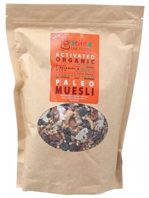 2DIE4 LIVE FOODS Activated Paleo Muesli 600g
