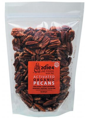 2DIE4 LIVE FOODS Activated Pecans 300g