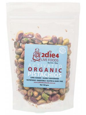 2DIE4 LIVE FOODS Activated Pistachios 100g