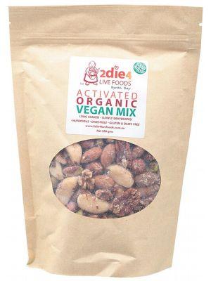 2DIE4 LIVE FOODS Activated Vegan Mix 300g