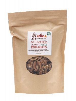 2DIE4 LIVE FOODS Organic Vegan Walnuts 300g