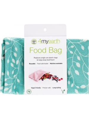 4MYEARTH Food Bag Leaf - 25x20cm 1