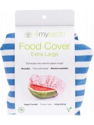 4MYEARTH Food Cover Denim Stripe - XL 1
