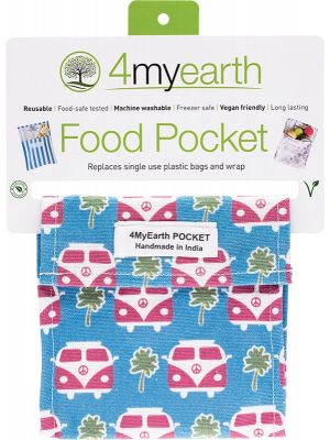 4MYEARTH Food Pocket Combie - 14x14cm 1