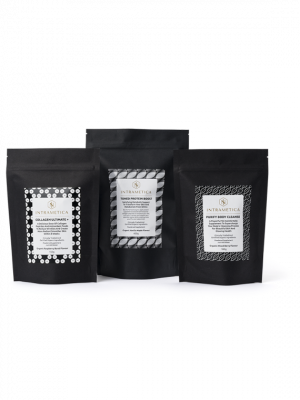 Intrametica Pouch Collection 1 each of Collagen Ultimate+, Purify Body Cleanse & Toned Protein Boost pouch