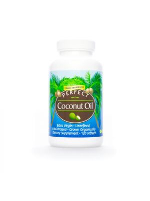 Perfect Organic Coconut Oil Soft Gels