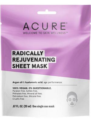 ACURE Radically Rejuvenating Sheet Mask 20ml