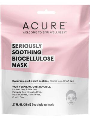 ACURE Seriously Soothing Biocellulose Mask 20ml