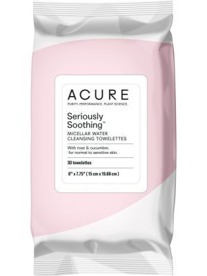 ACURE Seriously Soothing Micellar Water Towelettes 30