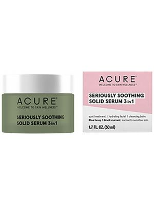 ACURE Seriously Soothing Solid Serum 3 In 1 50ml