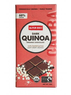 Alter Eco Dark Quinoa Chocolate 80g