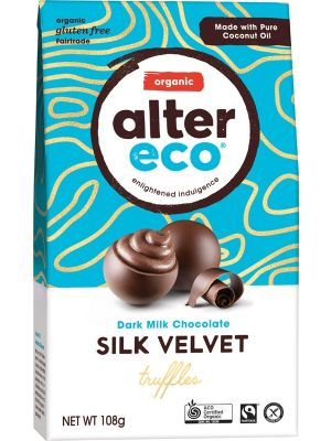 ALTER ECO Dark Milk Chocolate Truffles 108g