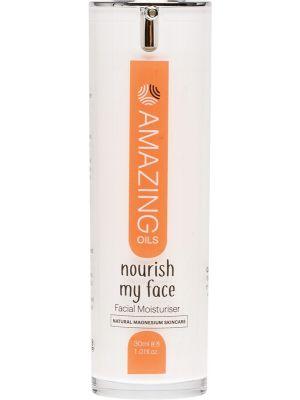 AMAZING OILS Facial Moisturiser  Nourish My Face Magnesium 30ml