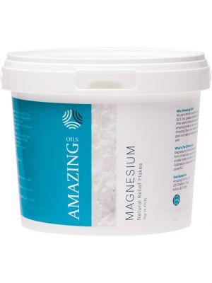 AMAZING OILS Magnesium Bath Flakes Magnesium Chloride 2kg